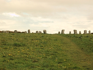 And now for something completely different - Merry Maidens stone circle