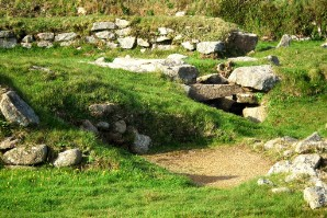 Carn Euny, an iron age ancient British village from 2,000 years ago