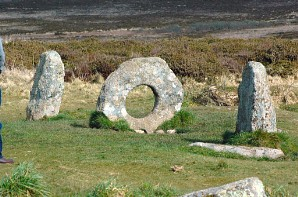 Men an Tol, a totally unique ancient site in the centre of Penwith