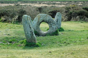 Men an Tol - climbing through the hole is said to bring healing or rebirth
