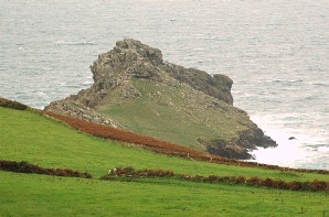 Gurnards Head, between Zennor and Morvah, an old tribal stronghold