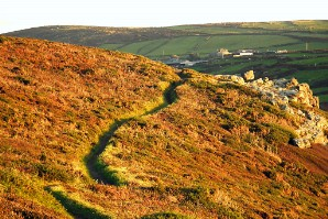 Zennor - the path goes ever on and on...